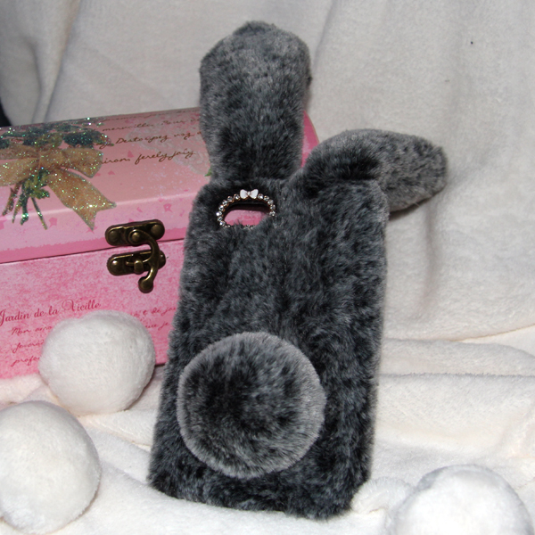 Накладка Faux Fur Rabbit для Xiaomi Redmi 6A