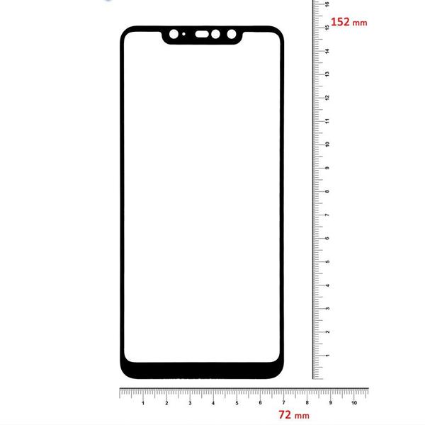 Защитное стекло 5D для Xiaomi Redmi Note 6 PRO