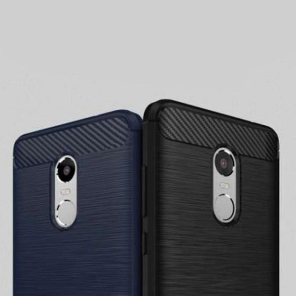 Чехол-бампер для Xiaomi Redmi Note 4x Ipaky Carbon Fiber
