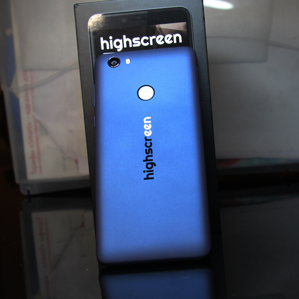 Highscreen Wallet 2/16Гб Синий/Blue