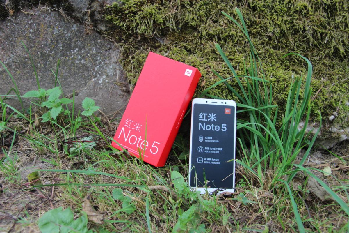 Xiaomi Redmi Note 5 Global 3/32Гб Золотой/Gold