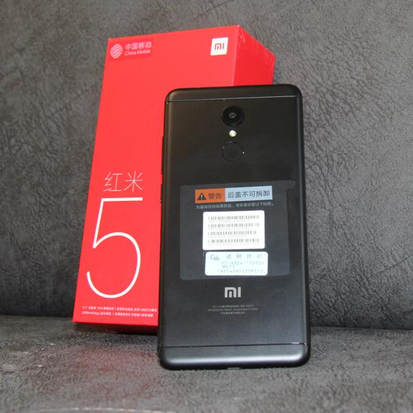 Xiaomi Redmi 5 2/16Гб Global Черный/Black