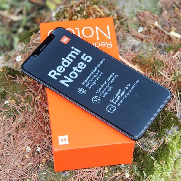 Xiaomi Redmi Note 5 3/32Гб Черный/Black