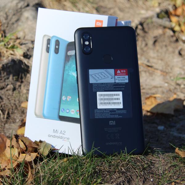 Xiaomi Mi A2 4/32Гб Черный/Black